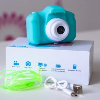 Bubby Cubby Kids Camera - Teal Green