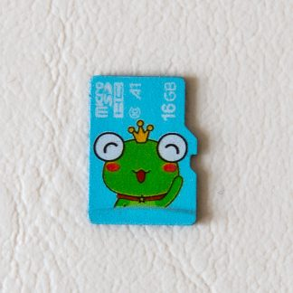 16GB Micro SDHC Card - Frog
