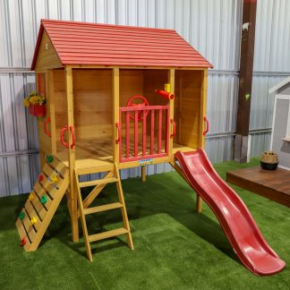 Oscar Cubby House - Red Slide